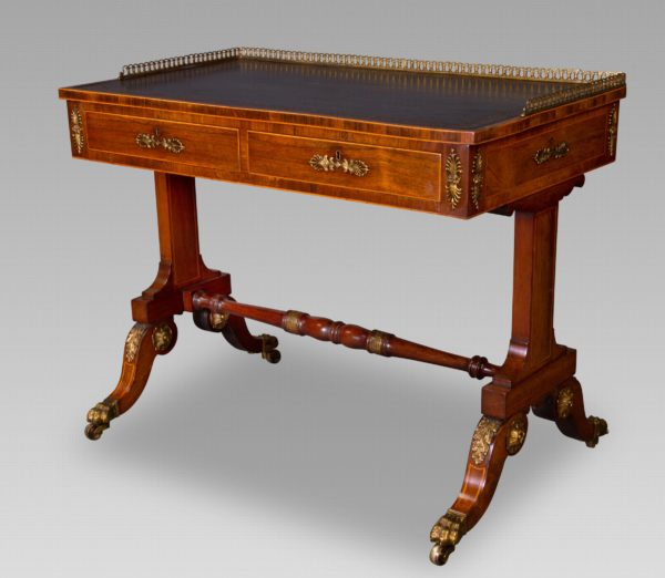 A Fine Regency Writing Table Attributed to John McLean