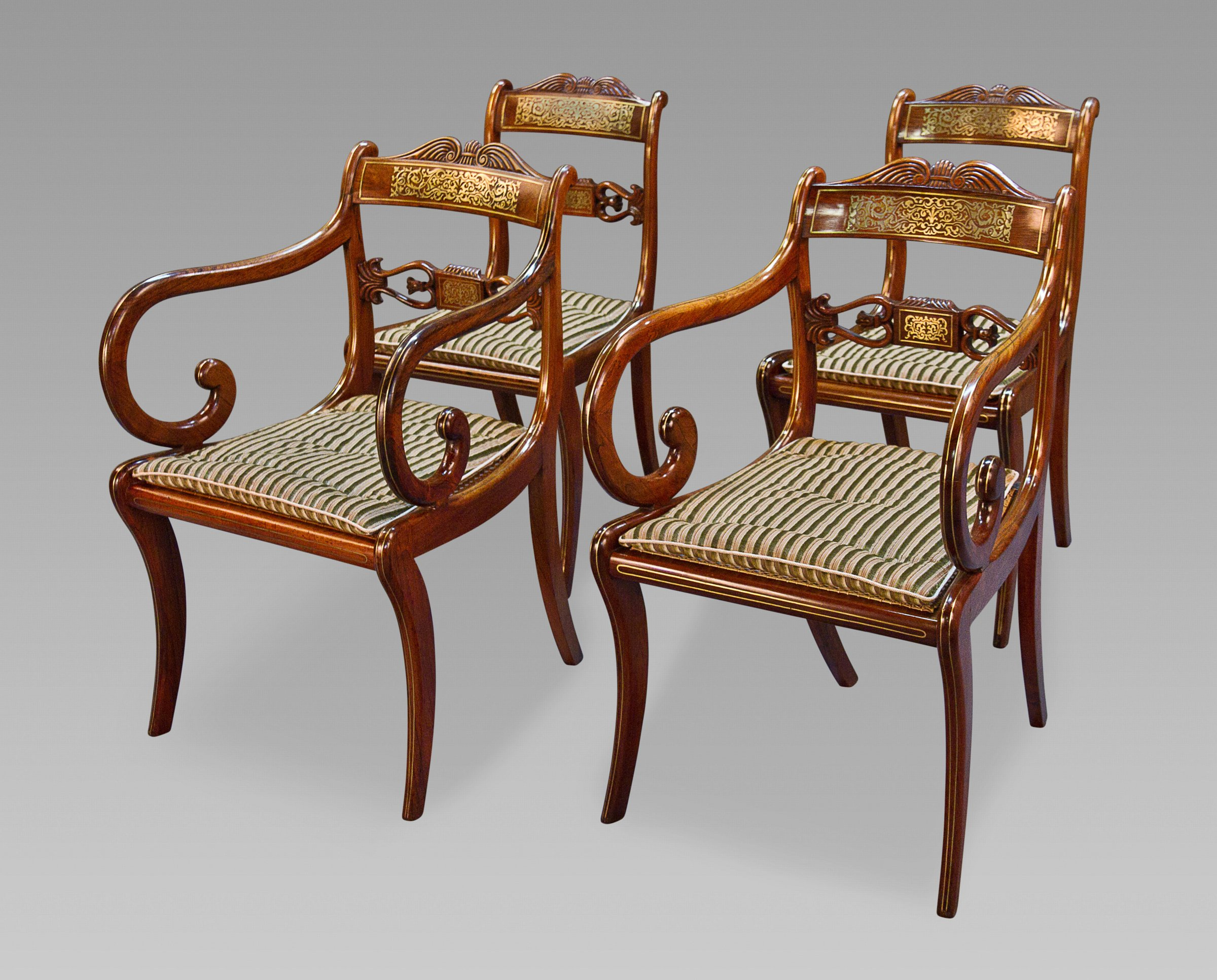 chair chairs brass chairish directors bamboo director barstools product vintage s