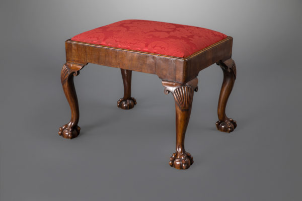 George II Walnut Stool